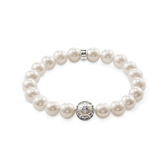 Pearl bracelet lotos blossom from the  collection in the THOMAS SABO online store