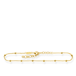 anklet Dots gold from the Glam & Soul collection in the THOMAS SABO online store