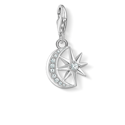 Charm pendant Star & Moon from the Charm Club Collection collection in the THOMAS SABO online store