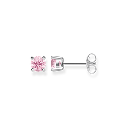 "ear studs ""Hot Pink Stone"" from the Glam & Soul collection in the THOMAS SABO online store"