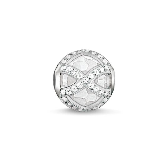 Bead Maharani blanche de la collection Karma Beads dans la boutique en ligne de THOMAS SABO