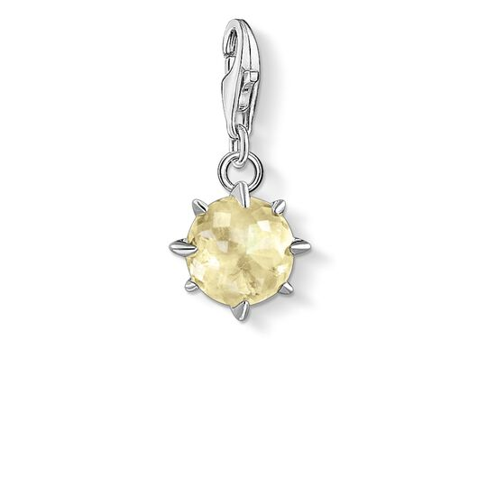 Charm pendant birth stone November from the Glam & Soul collection in the THOMAS SABO online store