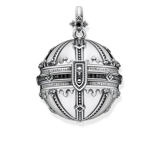 "pendant ""Royalty Orb"" from the Rebel at heart collection in the THOMAS SABO online store"