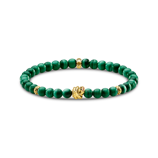 Bracelet green stones with snake from the Glam & Soul collection in the THOMAS SABO online store