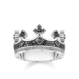 "bague ""couronne"" de la collection Rebel at heart dans la boutique en ligne de THOMAS SABO"