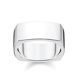 bague Quadrangulaire argent de la collection Rebel at heart dans la boutique en ligne de THOMAS SABO