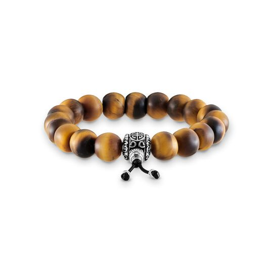 power bracelet ethnic brown from the Rebel at heart collection in the THOMAS SABO online store