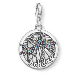 "Charm pendant ""disc tropical "" from the  collection in the THOMAS SABO online store"