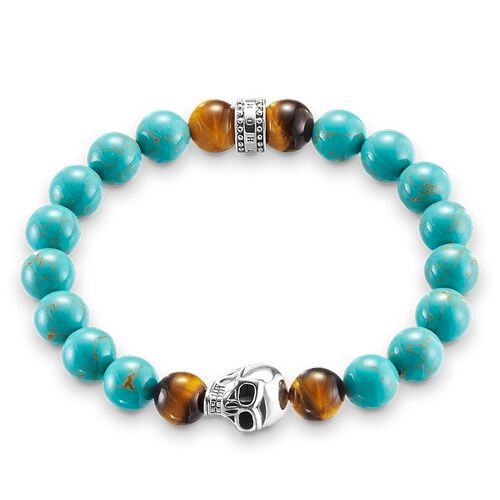 """bracelet """"ethnic skull"""" from the Rebel at heart collection in the THOMAS SABO online store"""