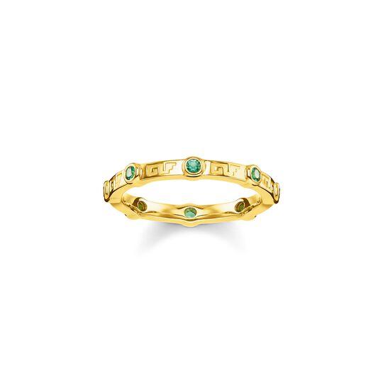 Ring grüner Stein aus der  Kollektion im Online Shop von THOMAS SABO