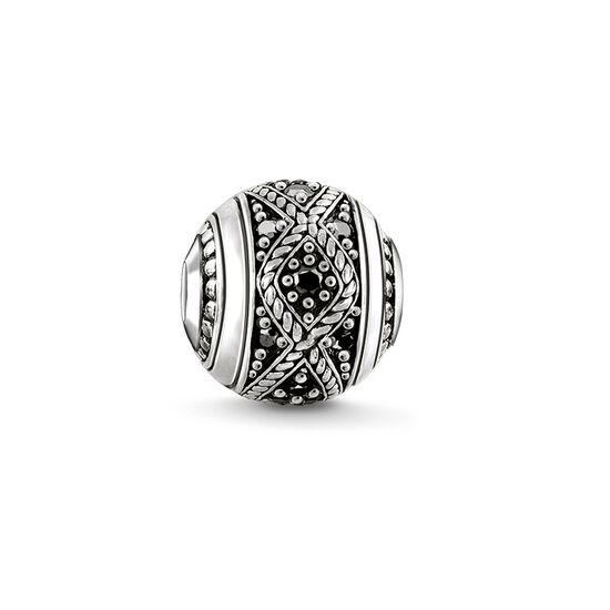 """Bead """"Love Knot noir"""" de la collection Karma Beads dans la boutique en ligne de THOMAS SABO"""