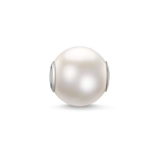 """Bead """"white pearl large"""" from the Karma Beads collection in the THOMAS SABO online store"""