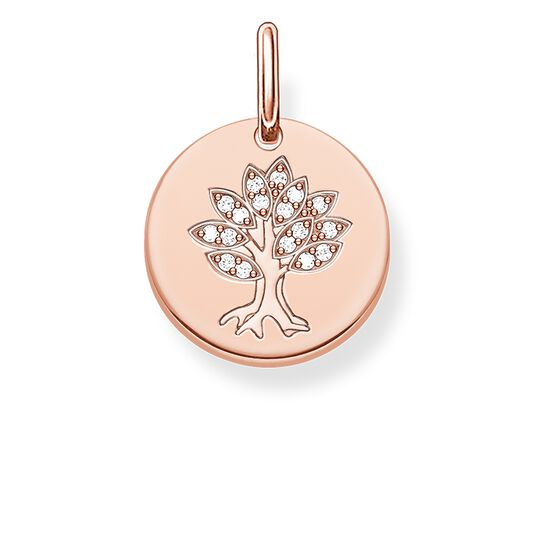 "pendant ""tree disc"" from the Love Bridge collection in the THOMAS SABO online store"