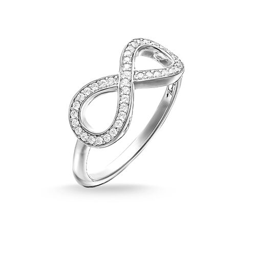 "ring ""infinity"" from the Glam & Soul collection in the THOMAS SABO online store"
