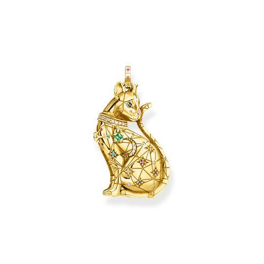 pendentif chat avec constellation or de la collection  dans la boutique en ligne de THOMAS SABO
