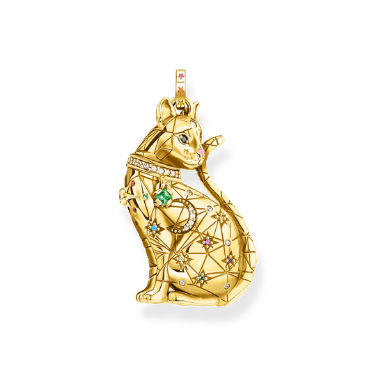 pendant cat constellation gold from the Glam & Soul collection in the THOMAS SABO online store