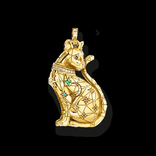 Anhänger Katze Sternenbild gold aus der Glam & Soul Kollektion im Online Shop von THOMAS SABO