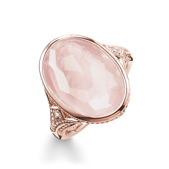 cocktail ring pink from the Glam & Soul collection in the THOMAS SABO online store