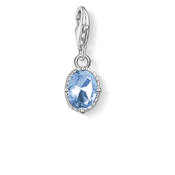 Charm pendant blue stone from the  collection in the THOMAS SABO online store