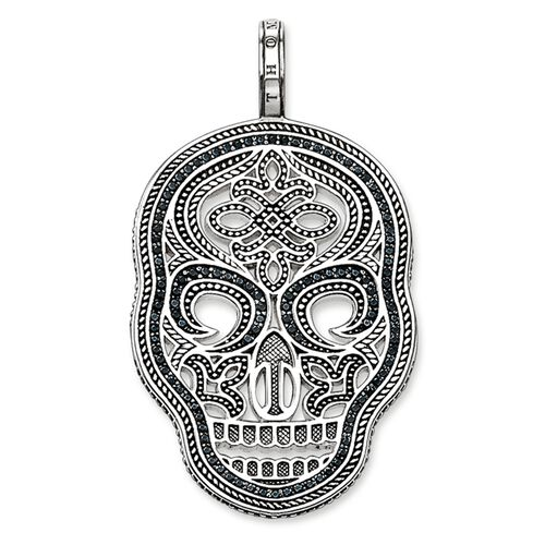 "pendentif ""masque tête de mort"" de la collection Rebel at heart dans la boutique en ligne de THOMAS SABO"