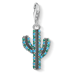 "ciondolo Charm ""cactus turchese"" from the  collection in the THOMAS SABO online store"