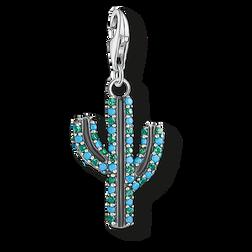 """pendentif Charm """"cactus turquoise"""" de la collection  dans la boutique en ligne de THOMAS SABO"""