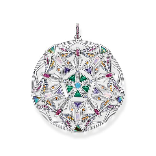 Hängsmycke amulett kaleidoscope slända silver ur kollektionen  i THOMAS SABO:s onlineshop