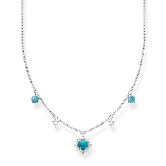 Chaîne pierre turquoise de la collection Charming Collection dans la boutique en ligne de THOMAS SABO