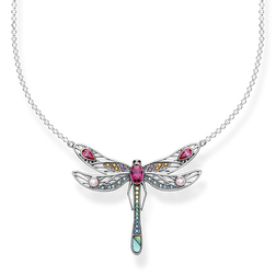 "necklace ""dragonfly large"" from the Glam & Soul collection in the THOMAS SABO online store"