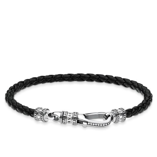 Lederarmband Karabiner aus der Rebel at heart Kollektion im Online Shop von THOMAS SABO
