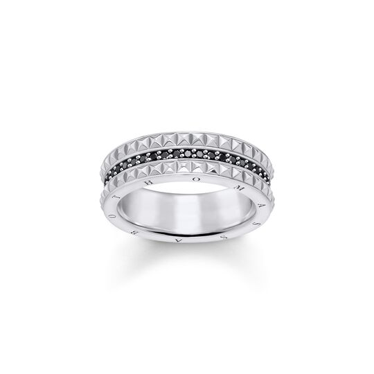 Ring Black Studs from the  collection in the THOMAS SABO online store
