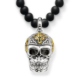 """necklace """"skull"""" from the Rebel at heart collection in the THOMAS SABO online store"""