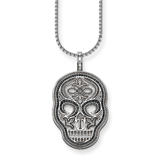 necklace skull mask from the Rebel at heart collection in the THOMAS SABO online store
