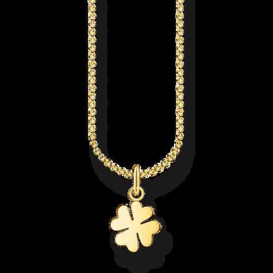 Halsband klöverblad guld ur kollektionen Charming Collection i THOMAS SABO:s onlineshop