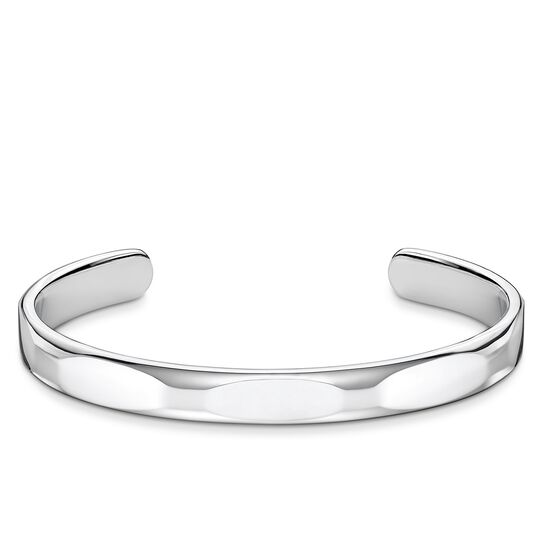 bangle Minimalist silver from the Rebel at heart collection in the THOMAS SABO online store