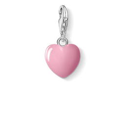ciondolo Charm cuore rosa from the  collection in the THOMAS SABO online store