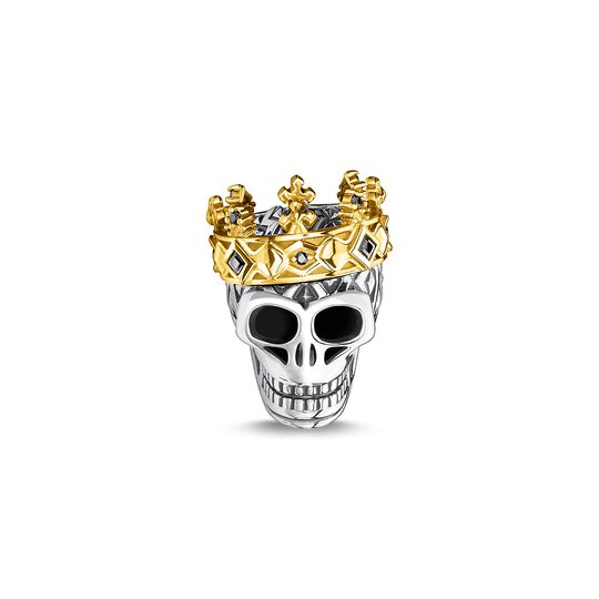 Bead skull crown from the Karma Beads collection in the THOMAS SABO online store
