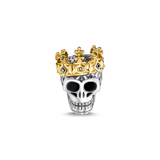 Bead tête de mort couronne de la collection Rebel at heart dans la boutique en ligne de THOMAS SABO