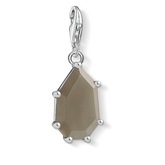 Charm pendant Brown stone from the Charm Club collection in the THOMAS SABO online store