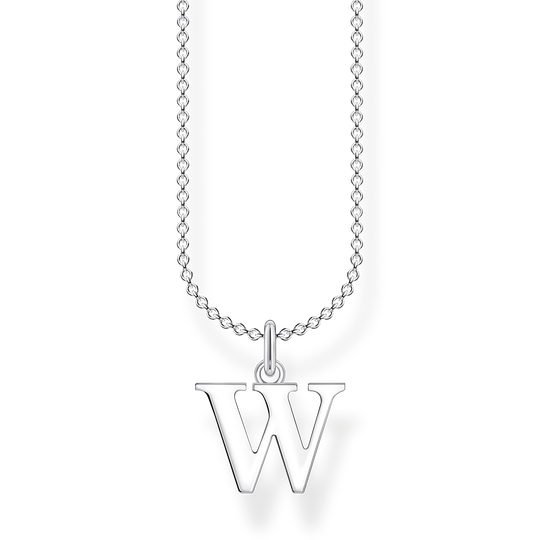 Necklace letter W from the Charming Collection collection in the THOMAS SABO online store