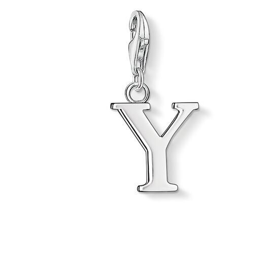 Charm pendant letter Y from the Charm Club collection in the THOMAS SABO online store