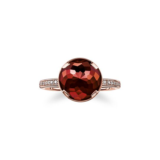 solitair ring root chakra from the  collection in the THOMAS SABO online store