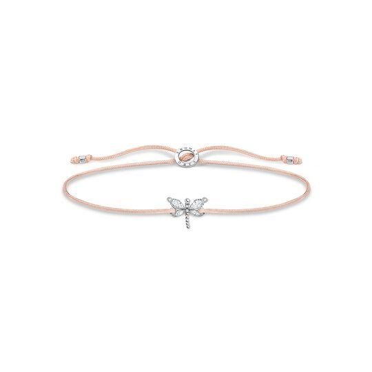Bracelet Little Secret libellule pierres blanches de la collection Charming Collection dans la boutique en ligne de THOMAS SABO