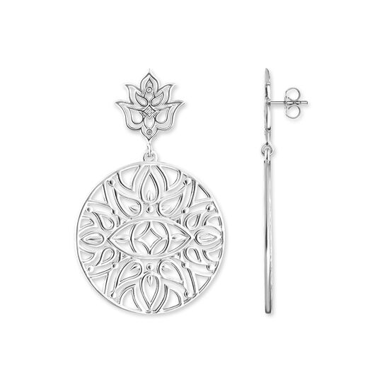 ear studs lotus flower ornamentation from the  collection in the THOMAS SABO online store