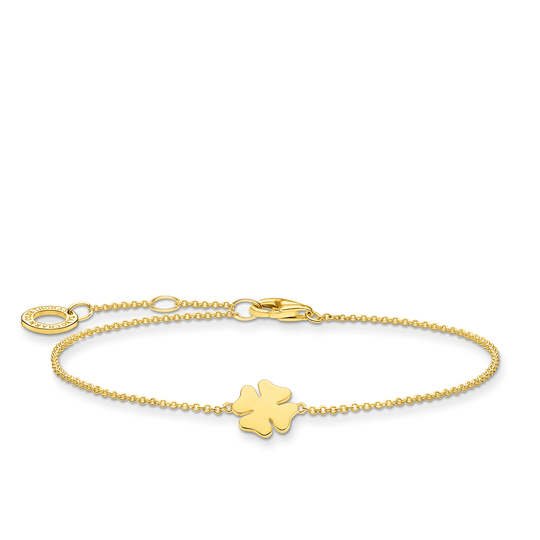 Armband klöverblad guld ur kollektionen Charming Collection i THOMAS SABO:s onlineshop