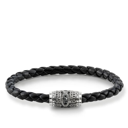 """leather strap """"Love Knot"""" from the Rebel at heart collection in the THOMAS SABO online store"""