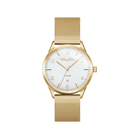 Watch unisex CODE TS yellowgold from the Glam & Soul collection in the THOMAS SABO online store