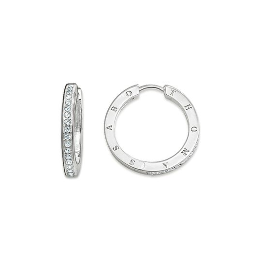 hoop earrings from the  collection in the THOMAS SABO online store
