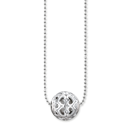 "necklace ""hearts"" from the Karma Beads collection in the THOMAS SABO online store"