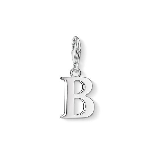 pendentif Charm lettre B de la collection Charm Club dans la boutique en ligne de THOMAS SABO